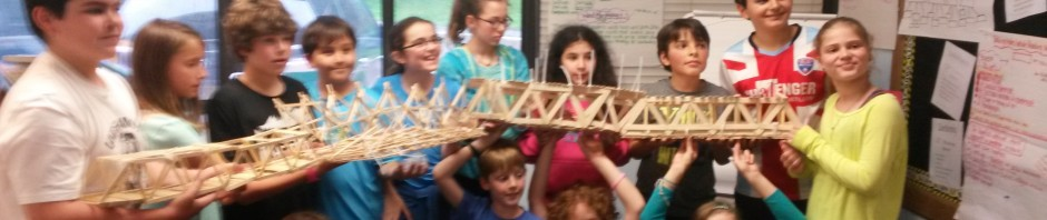 5th Grade Triangle Bridges
